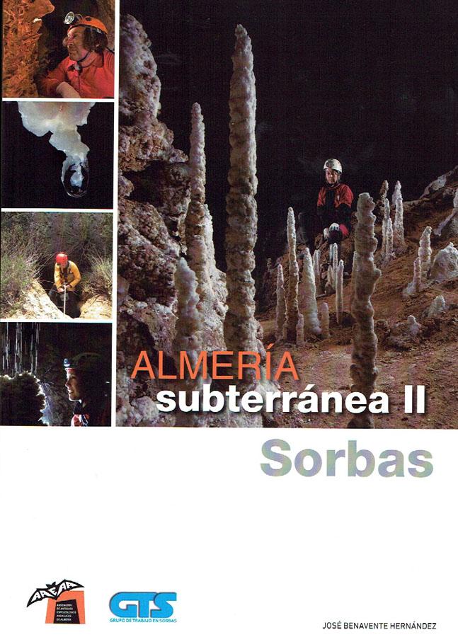 Catálogo de cavidades del Paraje Natural de Sorbas (Almería) con la reseña de más de 1.500 fenómenos geológicos de la zona. Acompañado de situaciones, planos y reseñas. Formato A4.