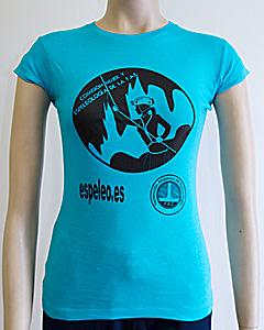 Camiseta mujer y espeleología
