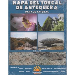 Mapa Torcal Antequera